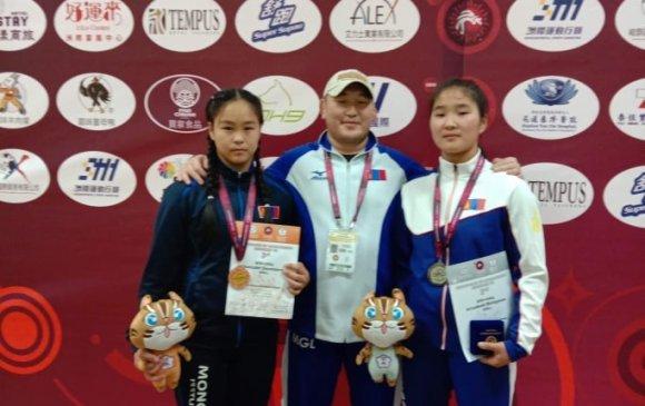 Азийн аваргаас А.Бичигмаа, А.Даваажаргал нар медаль хүртжээ