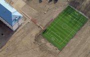 Дүүрэг бүрт хөлбөмбөгийн талбай барих ажил эрчимтэй хэрэгжиж байна