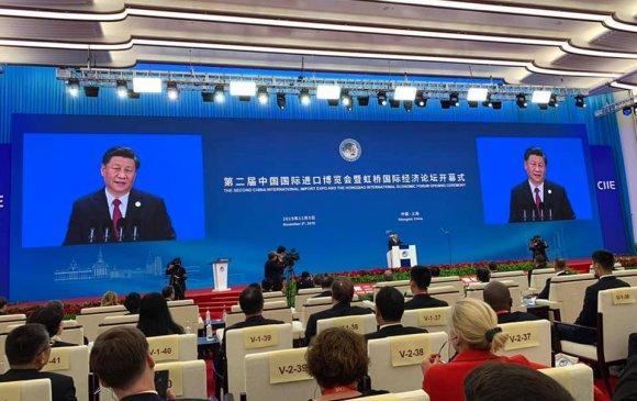 """""""Хятадын олон улсын импортын экспо""""-д оролцож байна"""