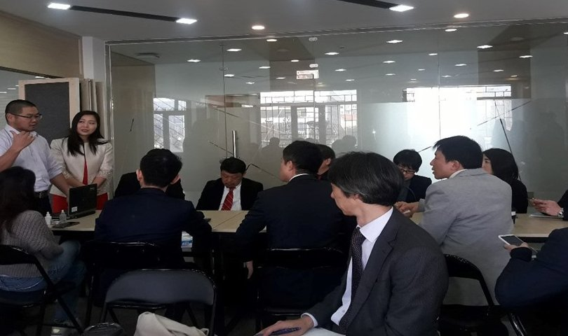 """Японы бизнесийн байгууллагын төлөөлөгчид """"Улаанбаатар инновацын төв""""-ийн үйл ажиллагаатай танилцлаа"""