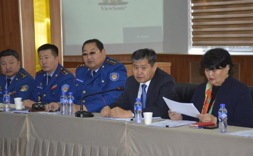 """""""Монгол Улсын Газар хөдлөлтийн гамшгаас хамгаалах чадавхыг бэхжүүлэх төсөл""""-ийн хаалтын ажиллагаа боллоо"""