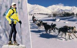 Хойд туйлын нохой чарганы уралдаанд өрсөлдөж байгаа Ч.Даваадуламыг дэмжээрэй