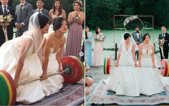 Брүүклиний сүйт бүсгүйчүүл хуримынхаа үеэр 115 кг туухай өргөв