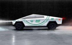 КиберТрак Дубайн цагдаагийн машин болно