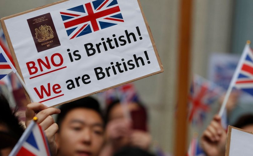 Хонгконгийн иргэдэд Британийн иргэншил олгохыг уриалжээ