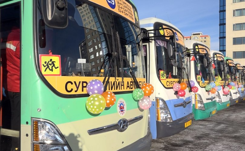 Сургуулийн автобус 33 чиглэлд үйлчилж эхэллээ