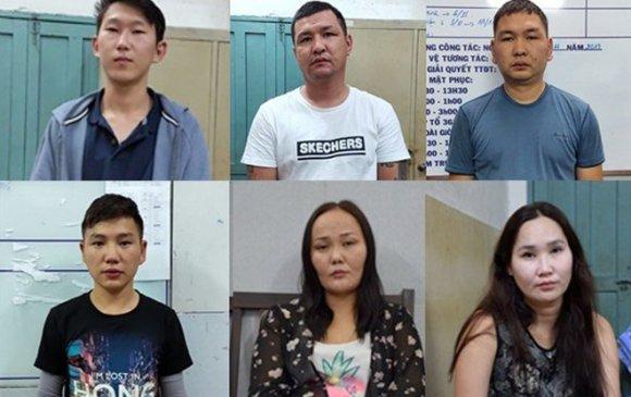 Вьетнамд хулгай хийсэн Монгол иргэдийг баривчилжээ