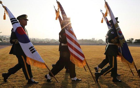 Америк цэргүүд Солонгосын хойгийг орхих уу?