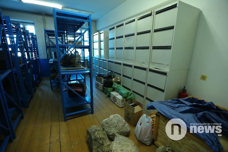 Байгалийн түүхийн музейн үзмэр хадгалалт (5)