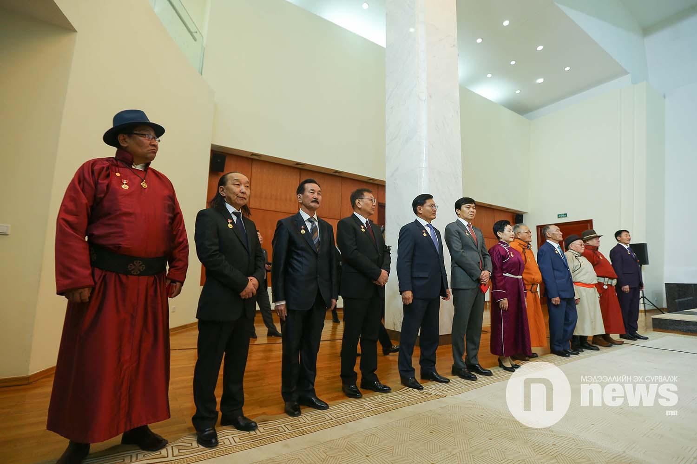 Монгол Улсын Ерөнхийлөгчийн зарлигаар Төрийн дээд одон, медаль гардуулах ёслол (37)