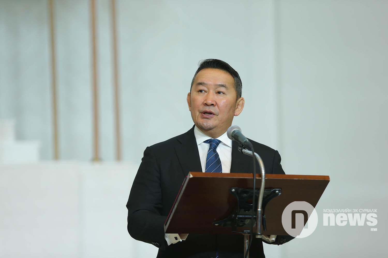 Монгол Улсын Ерөнхийлөгчийн зарлигаар Төрийн дээд одон, медаль гардуулах ёслол (41)