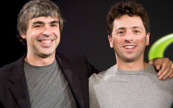 Google-ийг үүсгэн байгуулагч Ларри Пэйж, Сергей Брин нар ажлаа өглөө