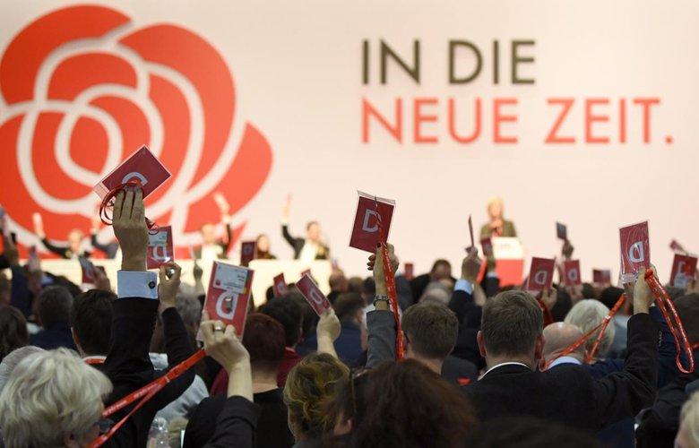Германы социалдемократууд шинэ боловсон хүчин, шинэ хөтөлбөртэйгөөр шинэ цаг үе рүү