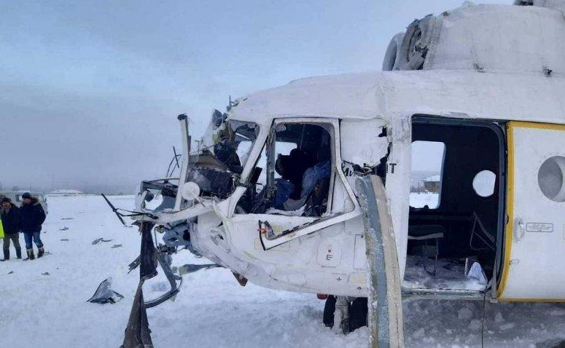ОХУ: 23 хүнтэй Ми-8 нисдэг тэрэг осолджээ