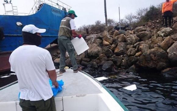 Галапагос арлын орчимд 2.3 тонн газрын тос алдагджээ