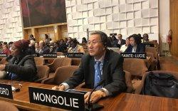 Монгол Улс ЮНЕСКО-гийн зөвлөлийн Дэд ерөнхийлөгчөөр сонгогджээ