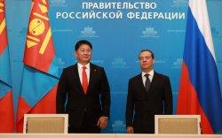 У.Хүрэлсүх, Д.А.Медведев нар 12 баримт бичигт гарын үсэг зурав