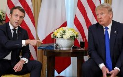 Трамп, Макрон нар НАТО-ийн индэр дээр ширүүхэн маргав