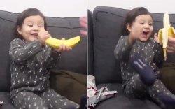 Хоёр настай охиндоо Зул сараар хачин бэлэг бэлэглэжээ