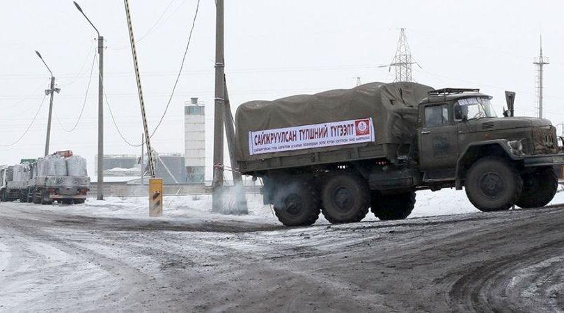 """Иргэдэд """"ЗИЛ-131"""" автомашинаар сайжруулсан түлш түгээж байна"""