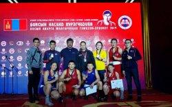 Улсын аварга шалгаруулах тэмцээнээс 5 алт, 2 мөнгөн медаль хүртлээ