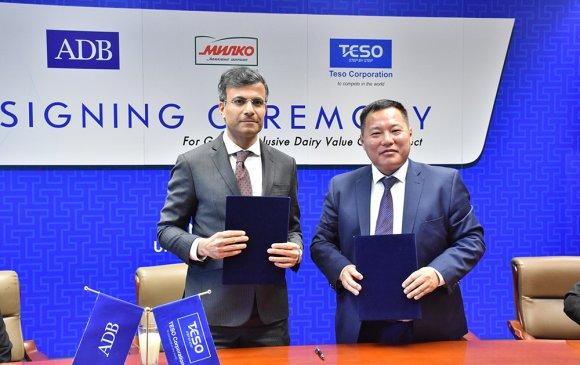 Азийн хөгжлийн банк Монгол Улсад анх удаа хувийн секторт төгрөгийн зээл олголоо