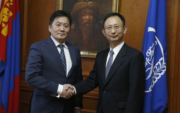 ОУВС-гийн Монгол дахь суурин төлөөлөгчийг хүлээн авч уулзлaа