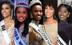 2019 оны гоо бүсгүйн тэмцээнд өнгөт арьст бүсгүйчүүд түрүүллээ
