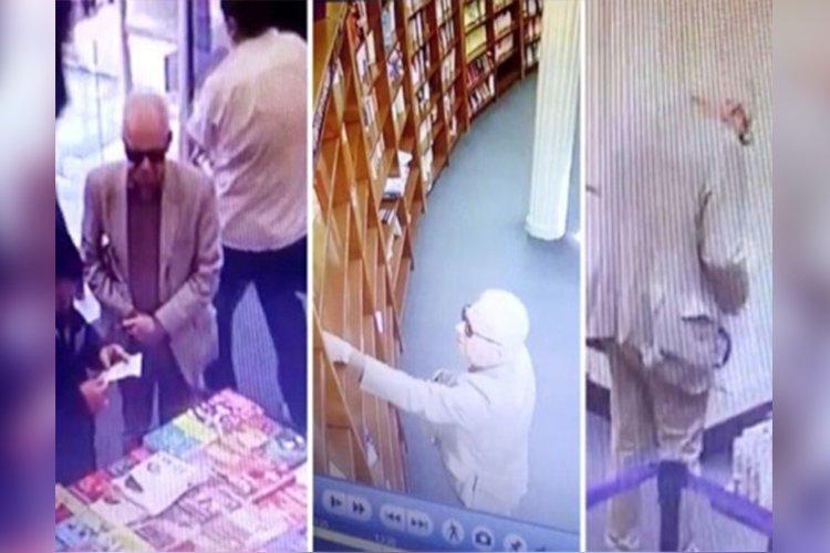 Элчин сайд дэлгүүрээс ном хулгайлахыг завджээ