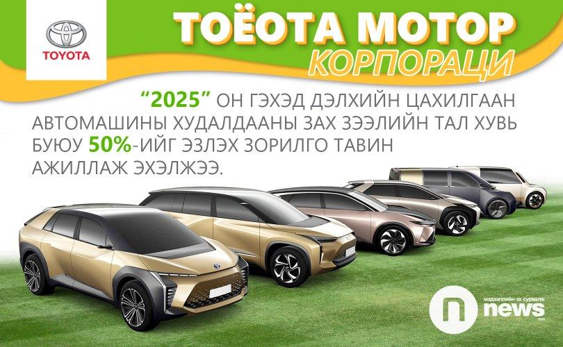 Цахилгаан автомашин болон ТОЁОТА МОТОР КОРПОРАЦИЙН СТРАТЕГИ