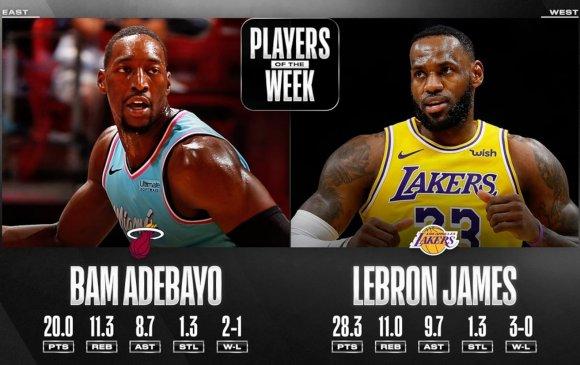 NBA-ийн 7 хоногийн шилдгүүд тодорлоо