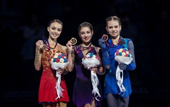 Уран гулгалт: Орос охидын бахдам амжилт Турины мөсөн талбайг эзэгнэв