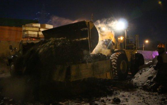 Дөрвөн тонн түүхий нүүрс нэвтрүүлэхийг завджээ