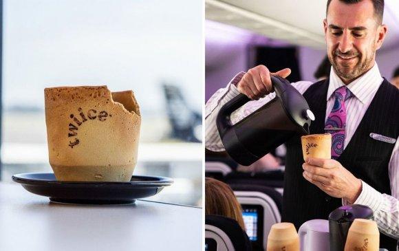 Шинэ Зеланд: Идэж болдог кофены аяга зохион бүтээжээ