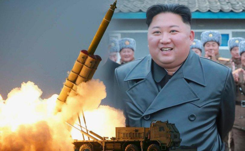 Хойд Солонгос пуужин харвах талбай нэмж барьж байна гэв