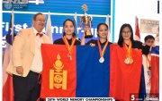 Монголын баг Дэлхийн ой тогтоолтын спортын холбооны ДАШТ-ий дэд аварга боллоо