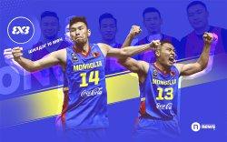 FIBA 3X3: Шилдэг 10 мөчид Монгол Улс нэрлэгджээ