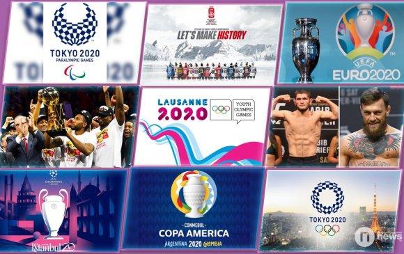 2020 онд болох онцлох спортын тэмцээнүүд