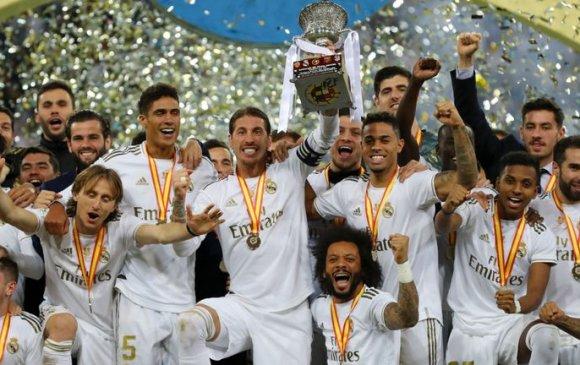 Реал Мадрид Испаний Супер цомд түрүүллээ