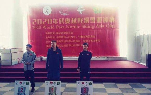 Пара цанын тамирчин Б.Ганболд Азийн цомоос хүрэл медаль хүртлээ