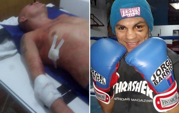 Дэлхий боксын аварга Хорхе Барриош хутгалуулжээ