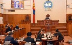 Монгол Улсын Ерөнхийлөгчийн сонгуулийн тухай хуулийн төслийг хэлэлцэхийг дэмжлээ