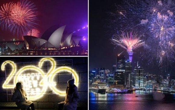 Фото: Дэлхийн улс орнууд 2020 оныг хэрхэн угтав?
