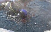 Усны гүнд эрэн хайх, аврах ажиллагааны дадлага сургууль хийлээ