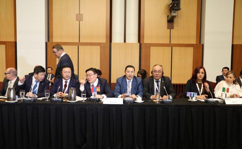 АНДОП-ын чуулганд УИХ-ын төлөөлөгчид оролцож байна