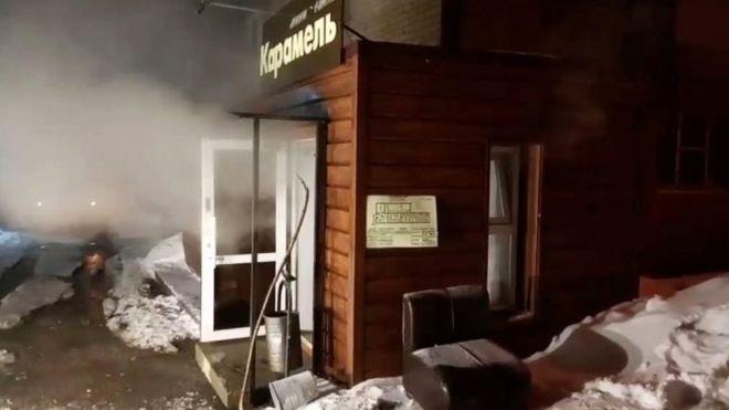 Орост зочид буудлын паар задарч таван хүн амиа алджээ