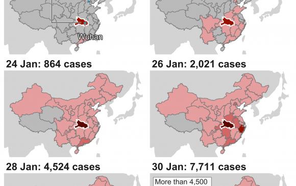 Хятадын бүх мужид коронавирусийн халдвар бүртгэгдлээ