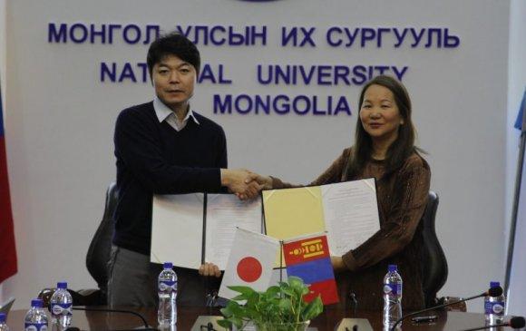 МУИС-ийн Шинжлэх Ухааны Сургууль, Японы Окаяама Их Сургуулийн Тогтвортой Хөгжлийн Боловсролын Төв хамтран ажиллах 5 жилийн гэрээ байгууллаа