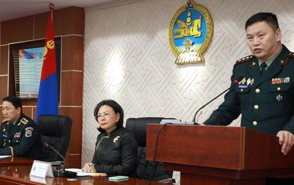 Аймаг, нийслэлийн Цэргийн штабын дарга нарын цугларалт боллоо