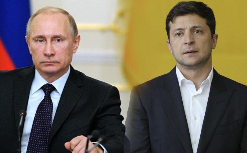 Путин 6 жилийн дараа Украины төрийн тэргүүнд мэнд хүргэжээ
